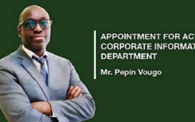 BAD : Pepin Vougo prend les rênes du département des TIC
