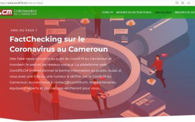Avec son programme « 10 Millions Smart Citizens », l'association Smart Click Africa lance la plateforme web Covid19.CM pour lutter contre les fake news sur la maladie